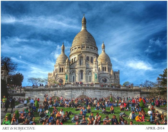 Sacré-Coeur @ Montmartre