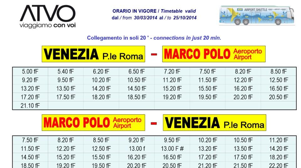 Venice Airport Bus